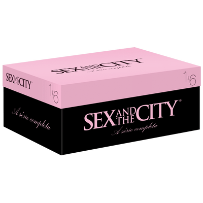 DVD Box Sex And The City - Completa - 19 Discos