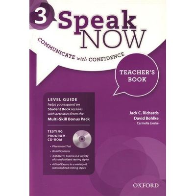 Speak Now 3 - Teacher´S Book With Testing - CD-ROM And Online Practice