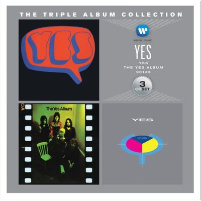 The Triple Album Collection - Yes - 3 CDs - Digifile