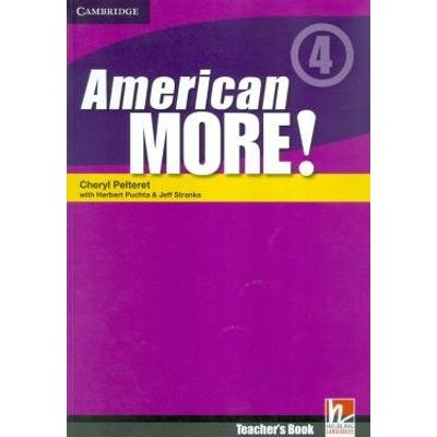 American More 4 - Teacher's Book