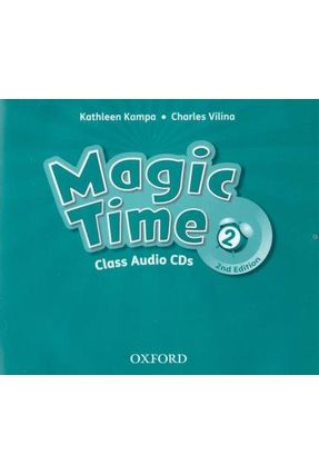 Magic Time 2 - Class CD - 2 Edition - Charles Kathleen Vilina Kampa | Tagrny.org