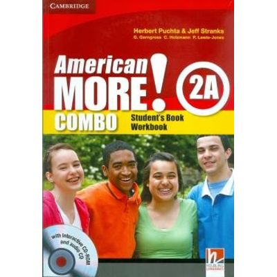 American More 2A - Student's Book + Workbook +Audio CD + Cd-Drom