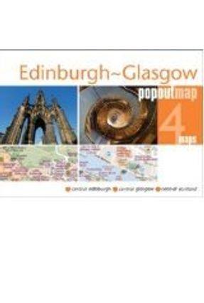 Edinburgh/Glasgow PopOut Map - Popout Maps   Nisrs.org