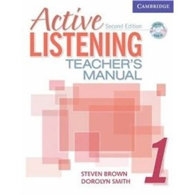 Active Listening 1 - Teacher's Manual With Audio CD