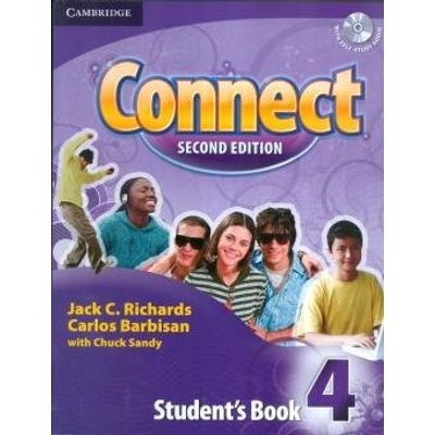 Connect 4 - Student Book International - Second Edition - With Audio CD