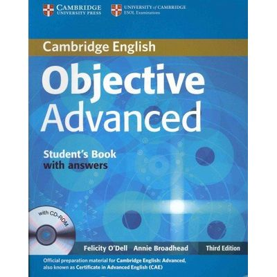 Objective Advanced - Student's Book With Answers With CD-ROM 3rd Ed.