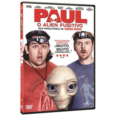 Paul - o Alien Fugitivo - DVD