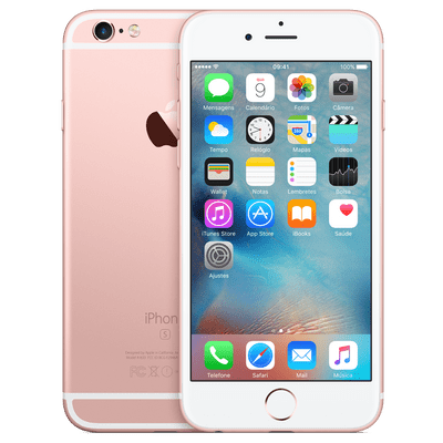 Usado - iPhone 6s 64Gb Ouro Rosa Apple