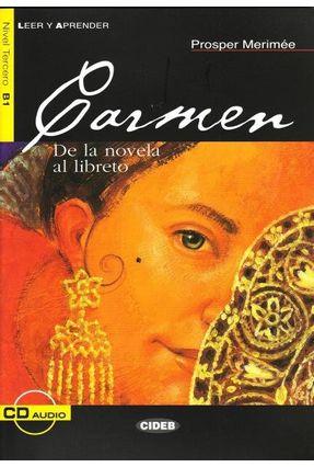 Carmen - Nivel 3 - Libro + CD - Merimee,Prosper | Tagrny.org
