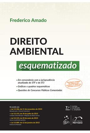 Usado - Direito Ambiental Esquematizado - 7ª Ed. 2016 - Amado,Frederico Augusto Di Trindade   Tagrny.org