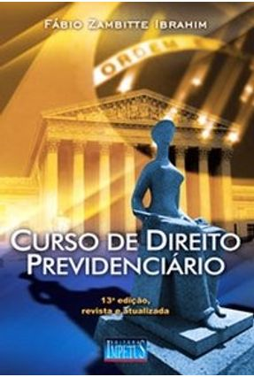 Usado - Curso de Direito Previdenciário - Série Acadêmica - 13ª Ed.