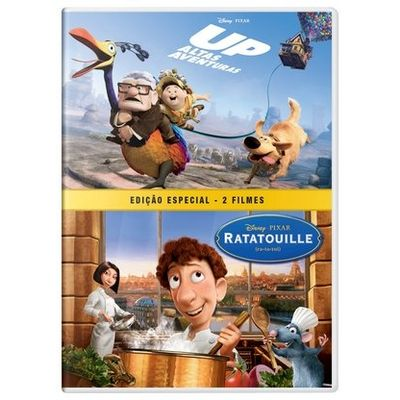 Up - Altas Aventuras + Ratatouille - DVD4