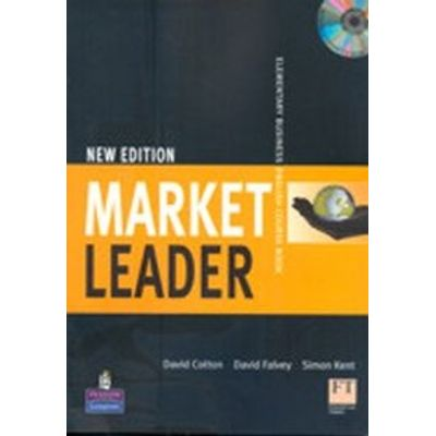 Market Leader - Elementary - Classbook withSelf Study CD Rom - new edition