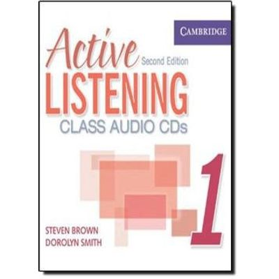 Active Listening 1 - Class Audio CD - Second Editin