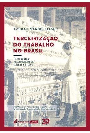 Terceirização Do Trabalho No Brasil - Alfaro,Larissa Menine pdf epub