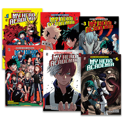 My Hero Academia  - Vol. 1 Ao 6