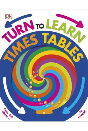 Turn To Learn Times Tables - Dk | Hoshan.org