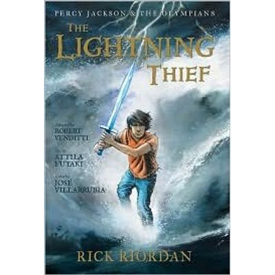 Percy Jackson And The Olympians - Lightning Thief - Graphic Novel