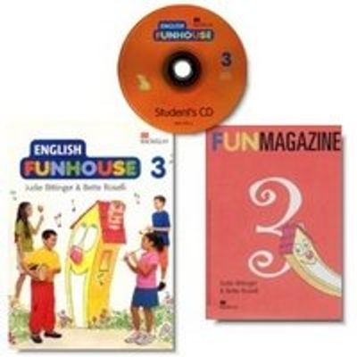 English Funhouse 3 - Student's Pack Com CD