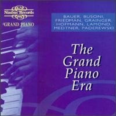 GRAND PIANO ERA / VARIOUS