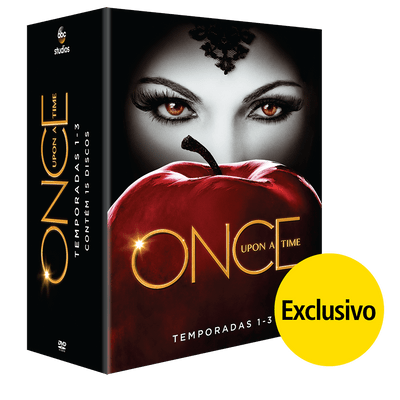 DVD Once Upon A Time - Temporadas 1 A 3 - 15 Discos - Exclusivo