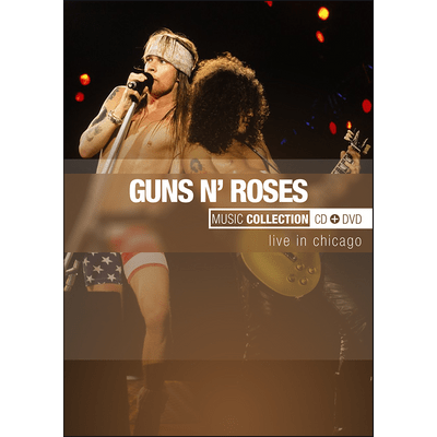 Guns N' Roses - Music Collection - DVD + CD - Exclusivo