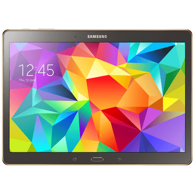 "Usado -Tablet Samsung Galaxy Tab S 10.5"" Sm-T805mtsazto Bronze 4G Android 4.4 16Gb Octa Core"