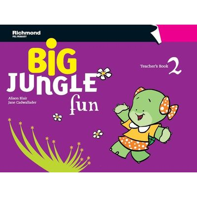 Big Jungle Fun 2 Teachers Book