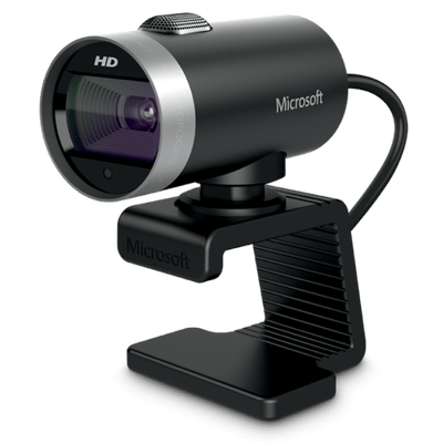 Webcam Microsoft Lifecam Cinema H5d-00013 Preto