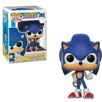 Sonic With Ring - Pop Vinyl