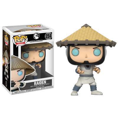 Mortal Kombat Raiden - Pop Vinyl