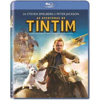 As Aventuras de Tintim - Blu-ray