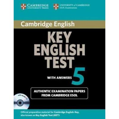 Cambridge Key English Test 5 - Self Study Pack With CD