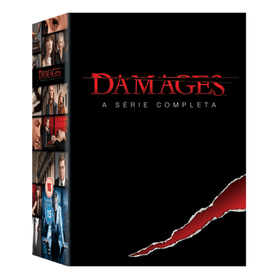 DVD Box Damages - A Série Completa - 15 Discos