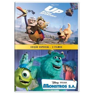 Up - Altas Aventuras + Monstros S. A. - DVD4