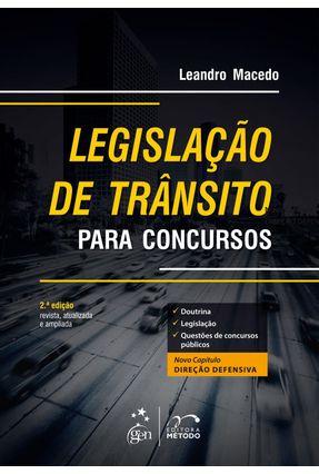 Usado - Legislação de Trânsito Para Concursos - 2ª Ed. 2013 - Macedo,Leandro pdf epub