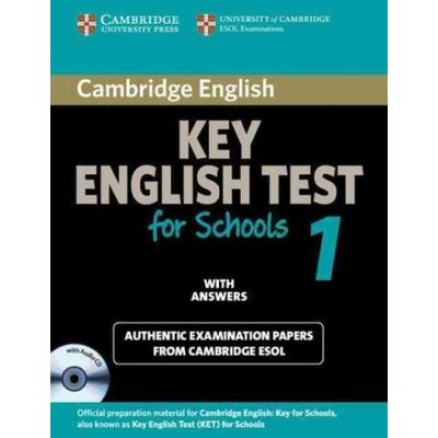 Cambridge Key English Test 1 - Student's Book with Answers and Audio CD