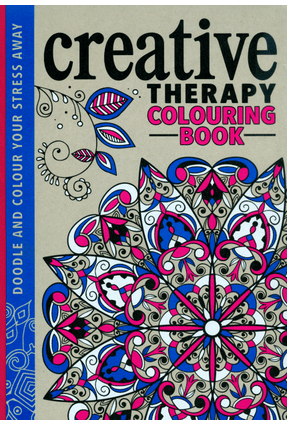 The Creative Therapy Colouring Book - Davies,Hannah Taylor,Jo Merritt,Richard | Hoshan.org