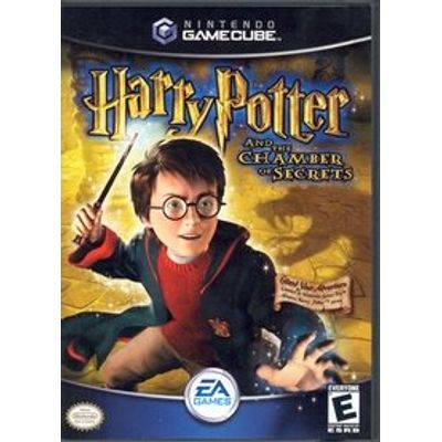 Harry Potter e A Câmara Secreta - Importado - Game Cube