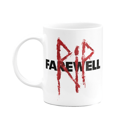 Caneca Playstation Days Gone Rip Farewell Cor Branco 325 ml Licenciado Sony