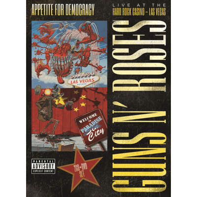 Appetite For Democracy - DVD + 2 CDs