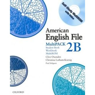 American English File 2 Multipack B