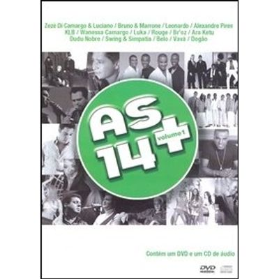 As 14 + - Vol. 1 - Popular - DVD + CD