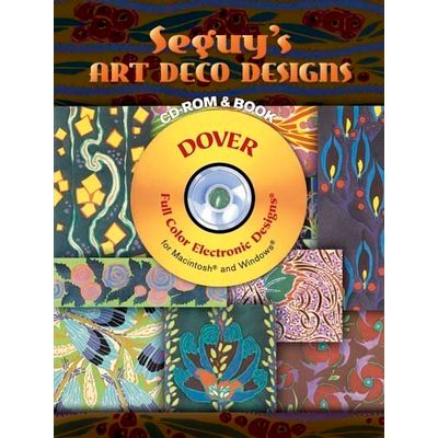 Seguy's Ar Deco Designs - CD-ROM And Book
