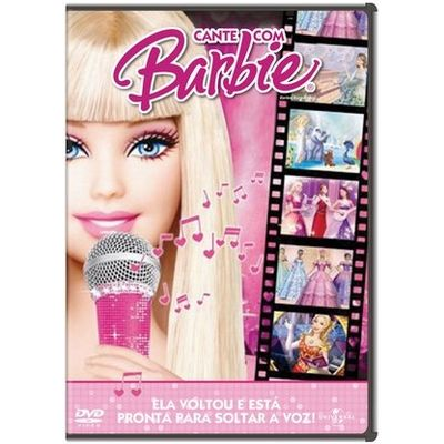 Cante Com A Barbie - DVD
