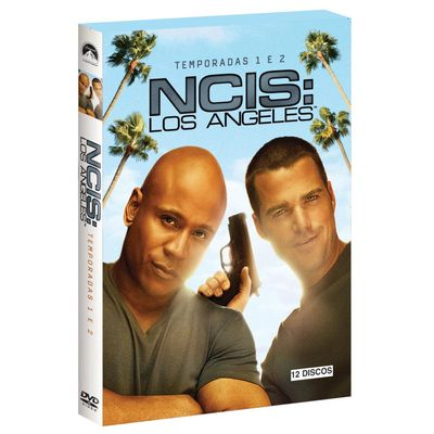 DVD Box Ncis: Los Angeles - 1ª e 2ª Temporada - 12 Discos