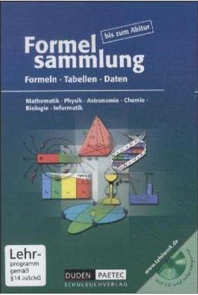 Formelsammlung + CD-ROM - Becker,Frank-michael Bossek,Hubert Engelmann,Lutz   Nisrs.org