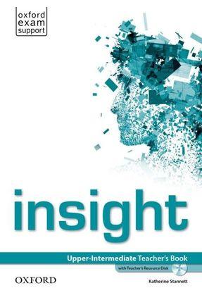 Insight - Upper-Intermediate - Teacher's Book With Teacher's Resource Disk - Oxford pdf epub