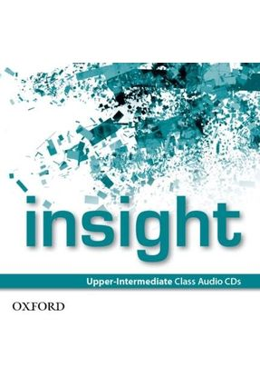 Insight - Upper-Intermediate - Class Audio Cds - Oxford pdf epub