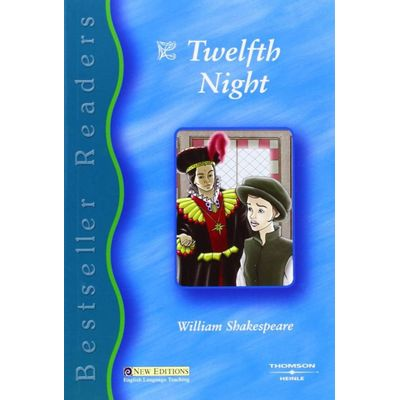 Bestseller Readers 3 - Twelfth Night - Book + Audio CD